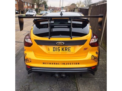 Ford Focus ST MK3 wing mount system